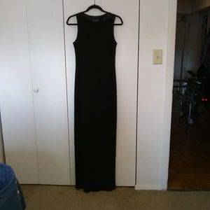 Ralph Lauren black formal dress, size 10